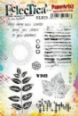 Eclectica³ Rubber Stamp Sheet by Lin Brown - ELB29